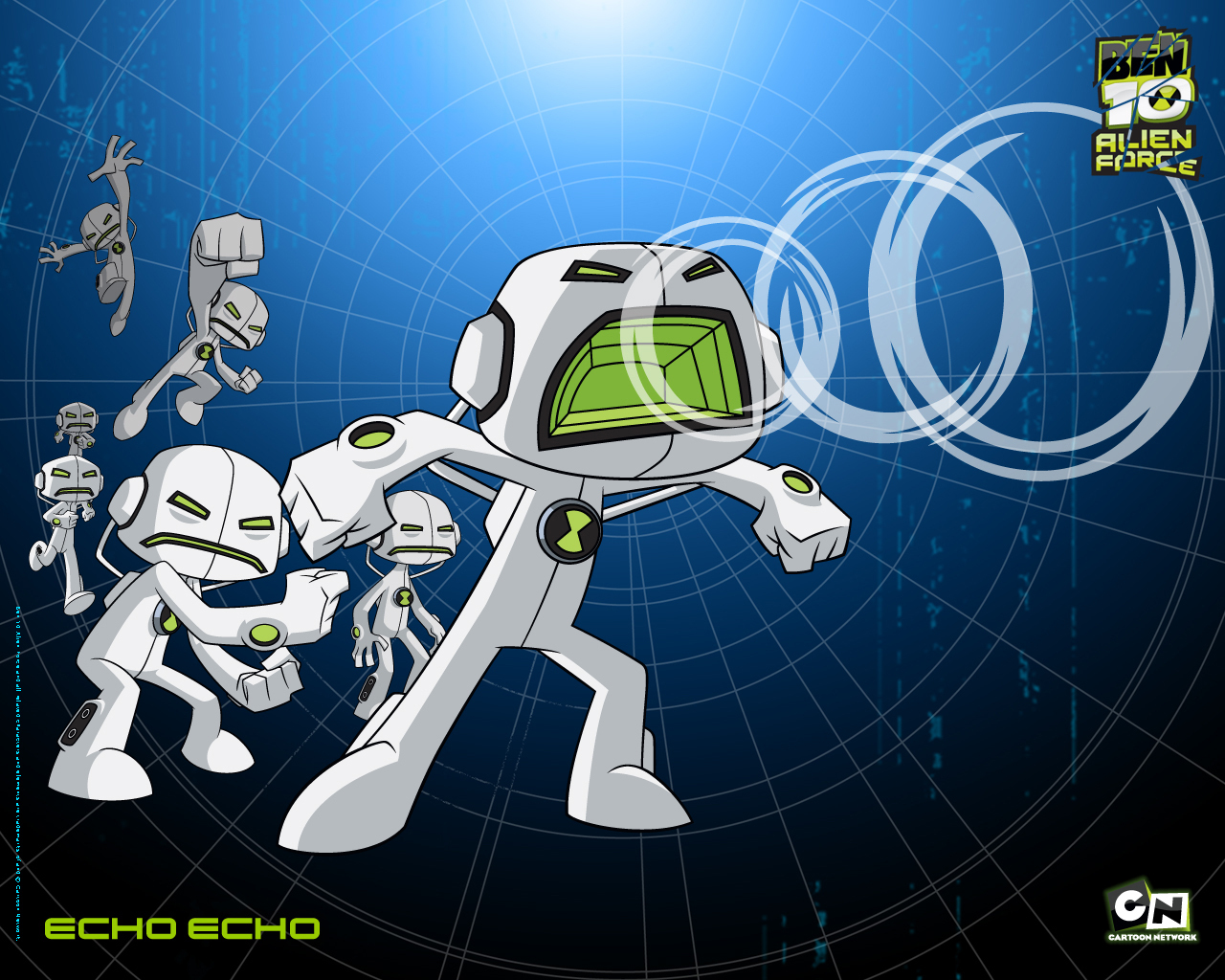 Ben 10 Alien Force Echo Echo 2